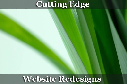Cutting Edge Web Redesigns