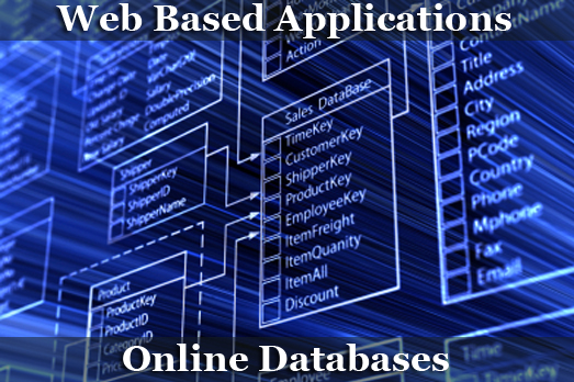 Web Applications and Online Databases